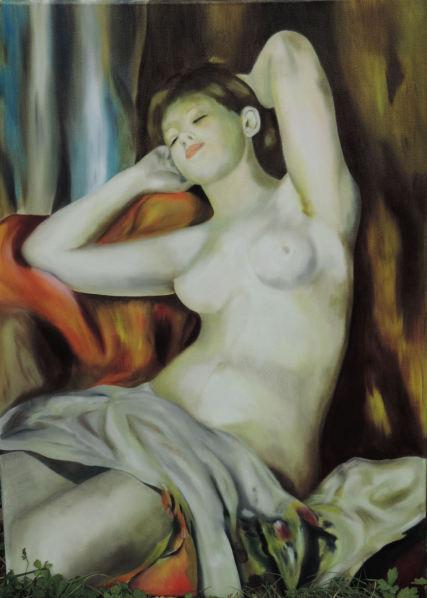 Etude d'oeuvres de grands Maîtres....(Renoir)